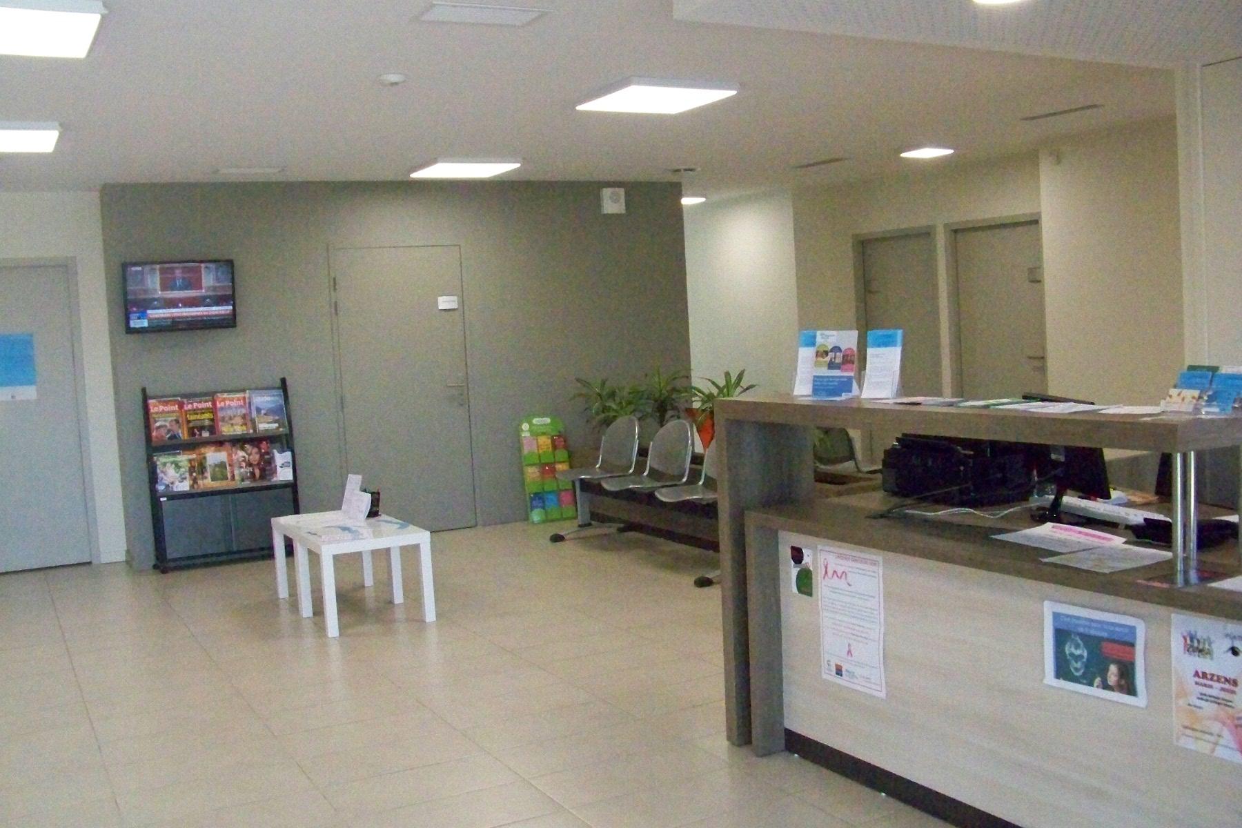 Accueil centre médical d'Arzens