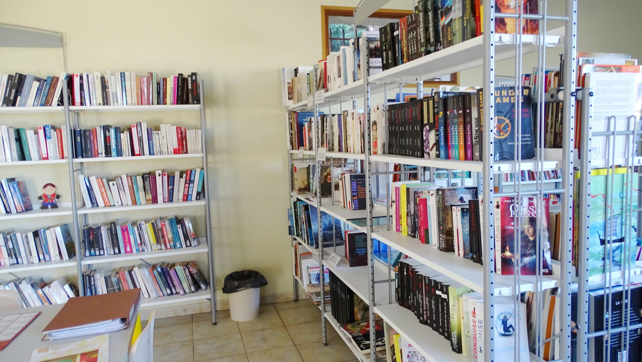rayon adulte - Bibliothèque Arzens