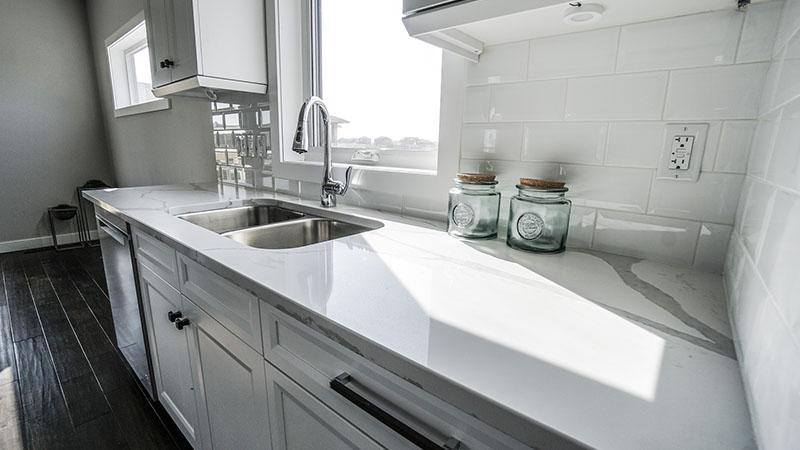 cuisine en marbre - Pistre Arzens