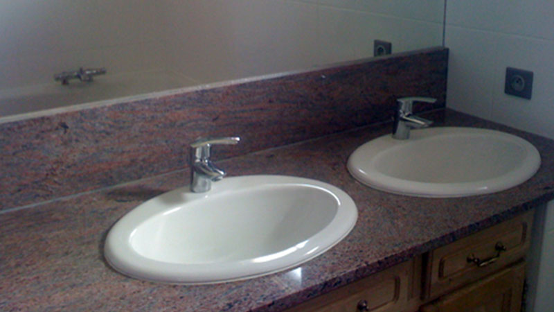 salle de bain - Marbre Pistre