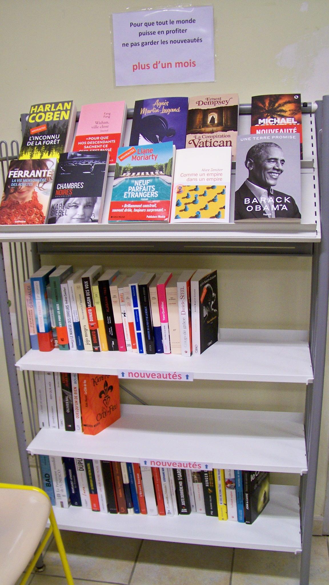 nouveauté littéraire - Bibliothèque Arzens