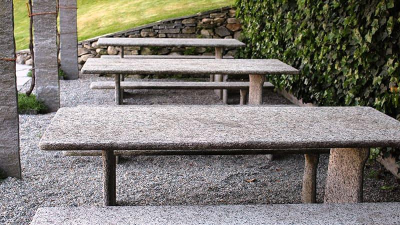 table en pierre - Granit Pistre