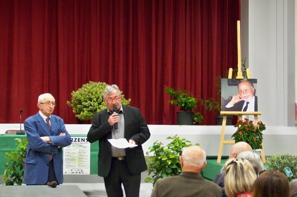 discours du maire d'Arzens en hommage à Mr Gol
