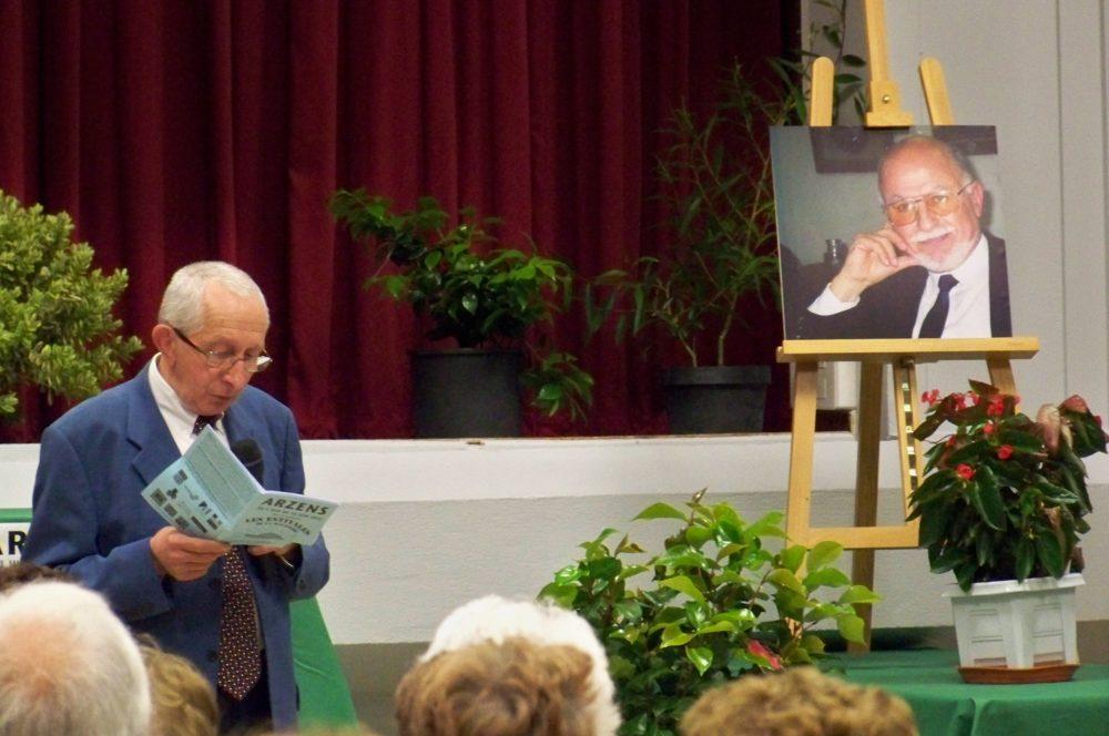 hommage à Mr Gol Les estivales à Arzens