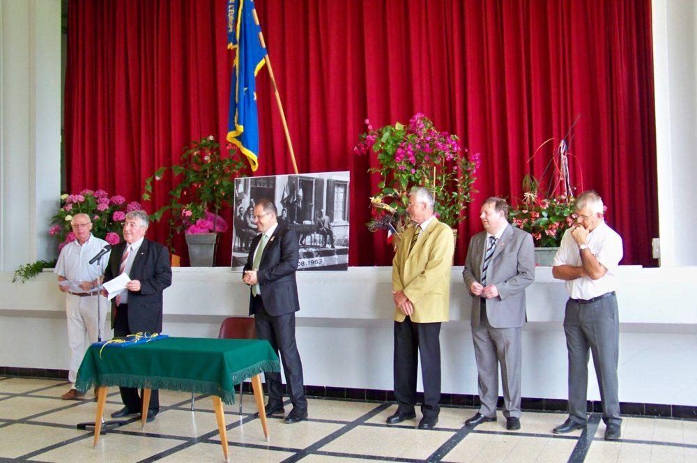 discours du maire Arzens Jumelage