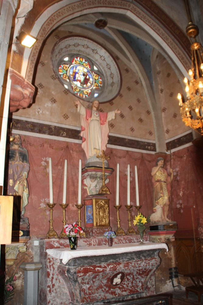petite chapelle de l'église d'Arzens