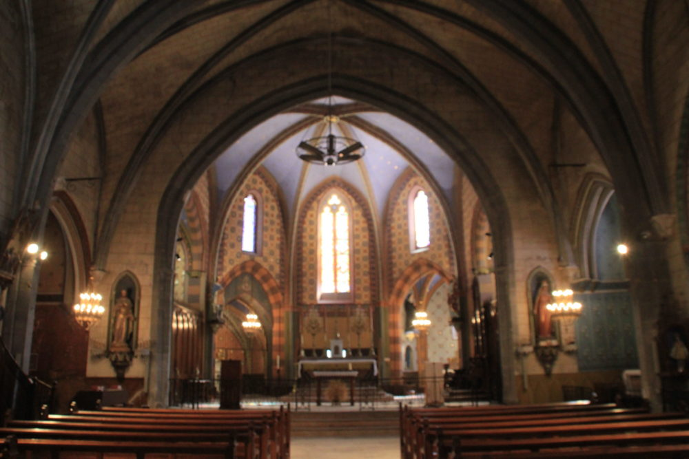 chœur de l'église d'Arzens