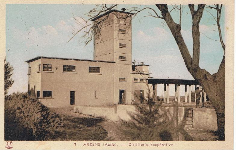 tour de la cave d'Arzens
